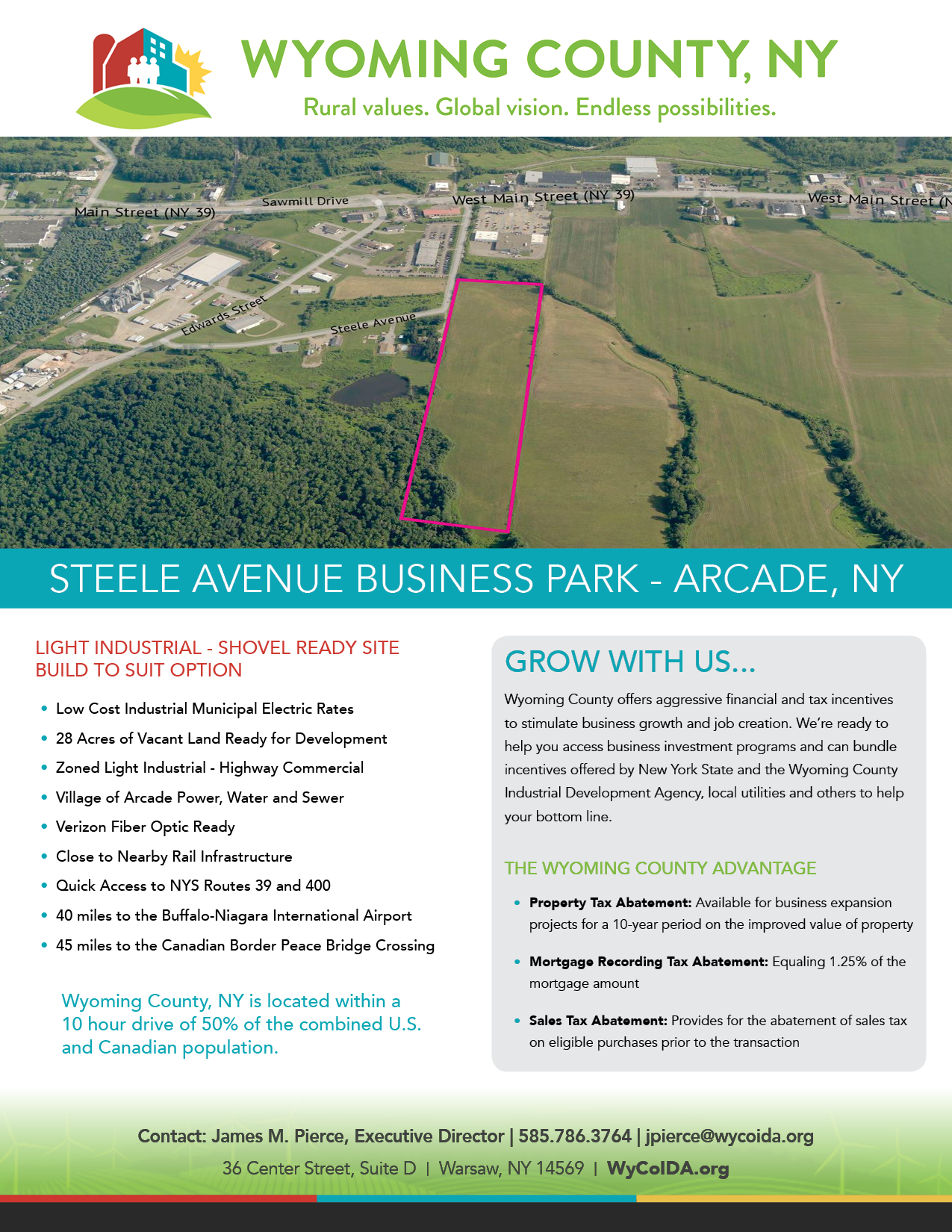 Wyoming County Steele Avenue Business Park